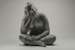 Thoughtful, Aluminium cement, 22 cm
