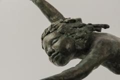 Flying Lady, Brons, 40x20x33 cm